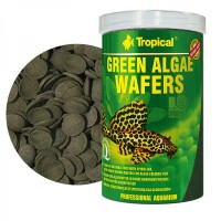 Tropical Green Algae Wafers 100ml/45gr. - Mangime...