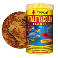 Tropical Vitality & Color Flakes 100ml/20gr. mangime in scaglie che...
