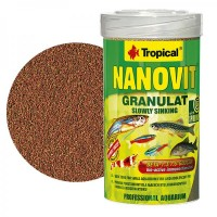 Tropical NANOVIT GRANULAT 100ml/70gr. mangime in...