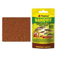 Tropical NANOVIT GRANULAT 10 gr. Zip-Bag -mangime...