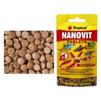 Tropical Nanovit Tablets 10 gr./70 pz Zip-Bag...