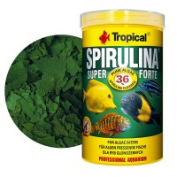 Tropical SPIRULINA Super Forte 36% Flakes 1000ml/200gr. mangime in fiocchi