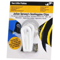 Two Little Fishies SeaVeggies Clip - pinza con ventosa per alimentare i...