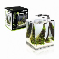 Aquael SHRIMP SET SMART LED 2 - 10 lt BLACK - caridinaio completo...