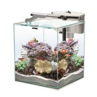 Aquael Nano Reef Duo 35 White 49 lt - mini acquario marino 35x35x40h cm...