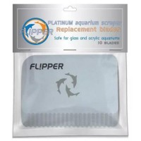 Flipper Platinum Scraper Replacement Cards - 10 pz - lame in plastica di...