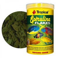 Tropical SPIRULINA FLAKES gr.20/ml.100 mangime in...