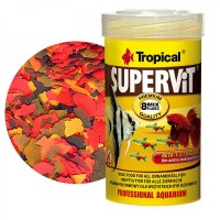 Tropical SUPERVIT gr.50/ml.250 mangime in fiocchi