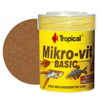Tropical MIKRO-VIT BASIC 50ml/32gr alimento per...